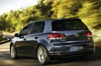 2013 Volkswagen Golf, Back quarter view., manufacturer, exterior