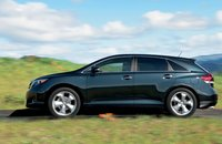 2013 Toyota Venza, Side View., exterior, manufacturer