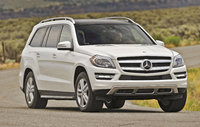 2013 Mercedes-Benz GL-Class GL350 BlueTEC, Front-quarter view, manufacturer, exterior