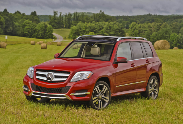 2013 Mercedes-Benz GLK-Class, Front-quarter view, exterior, manufacturer, gallery_worthy