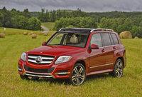 2013 Mercedes-Benz GLK-Class, Front-quarter view, exterior, manufacturer