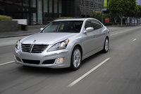 2013 Hyundai Equus, Front-quarter view, exterior, manufacturer, gallery_worthy