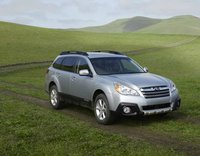 2013 Subaru Outback, Front quarter view., exterior, manufacturer, gallery_worthy