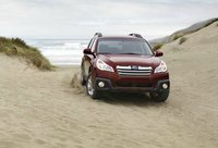 2013 Subaru Outback, Front View. , exterior, manufacturer