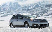 2013 Subaru Outback, Front quarter view., exterior, manufacturer