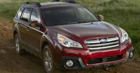 2013 Subaru Outback, Front View., exterior, manufacturer