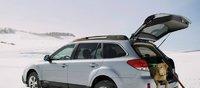 2013 Subaru Outback, Back quarter view., exterior, manufacturer