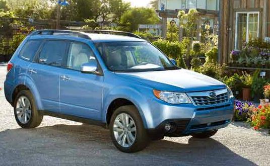 2013 Subaru Forester, Front quarter view., exterior, manufacturer