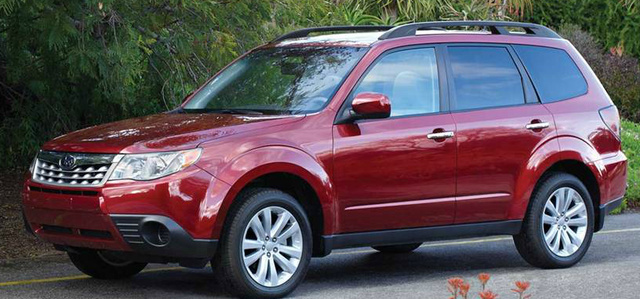 2013 Subaru Forester, Front quarter view., exterior, manufacturer, gallery_worthy