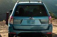 2013 Subaru Forester, Back View., manufacturer, exterior