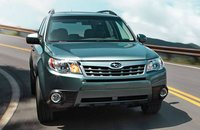 2013 Subaru Forester, Front View, exterior, manufacturer