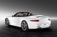 2013 Porsche 911, Back quarter view., exterior, manufacturer