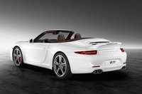 2013 Porsche 911, Back quarter view., exterior, manufacturer