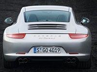 2013 Porsche 911, Back View., exterior, manufacturer
