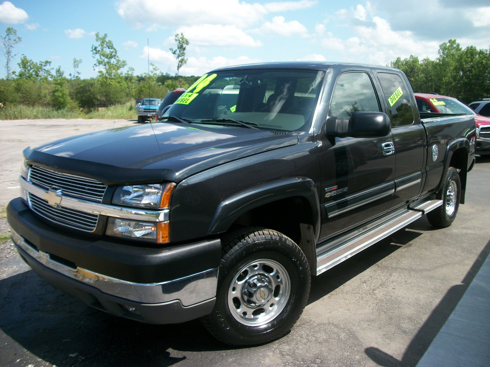 picture of 2004 chevrolet silverado 2500hd 4 dr ls 4wd extended cab lb. Black Bedroom Furniture Sets. Home Design Ideas