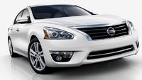 2013 Nissan Altima, Front View., exterior, manufacturer