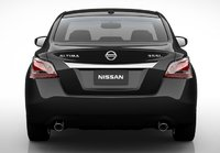 2013 Nissan Altima, Back View., exterior, manufacturer, gallery_worthy