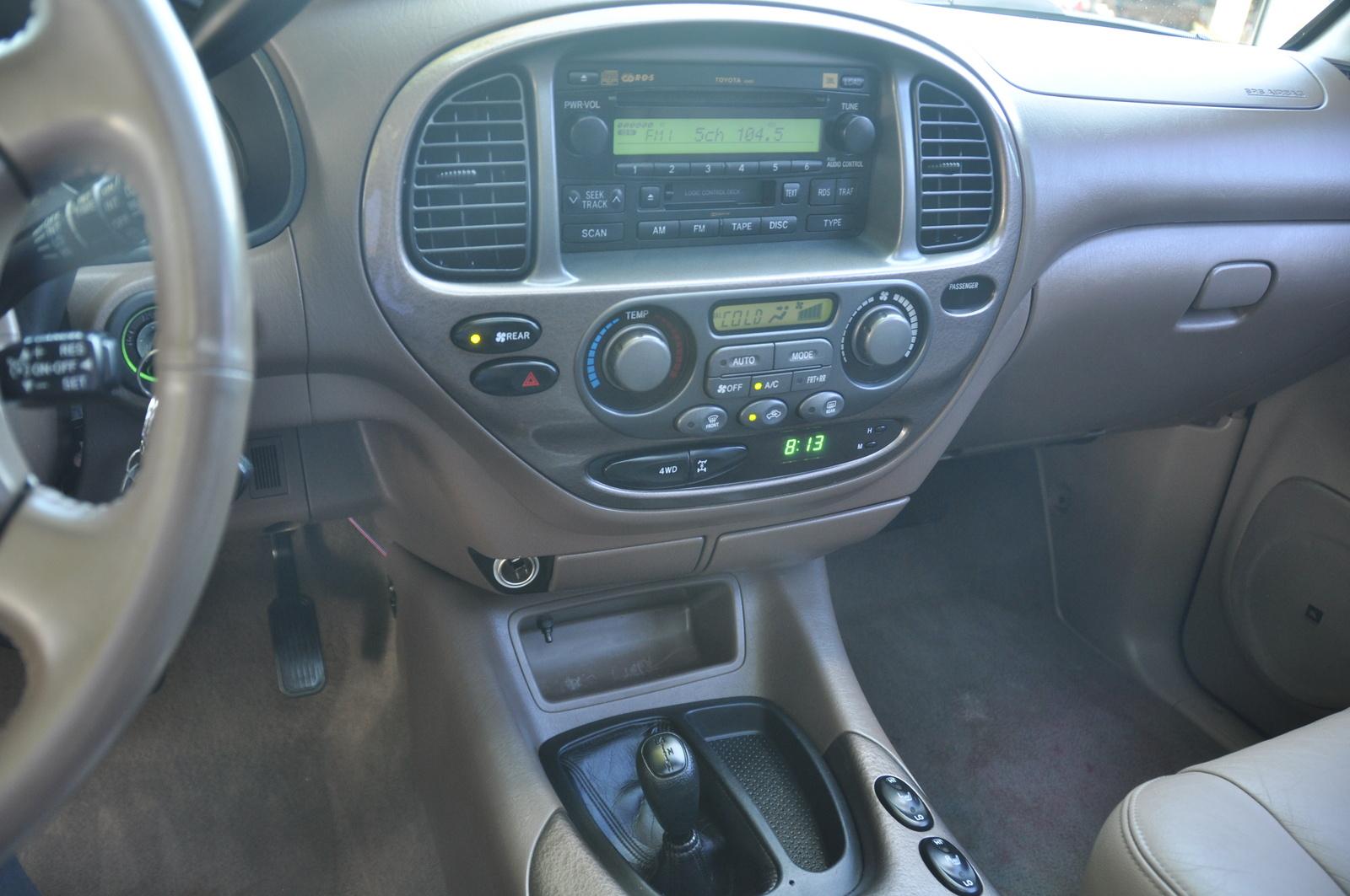 2003 Toyota Sequoia Interior Pictures Cargurus