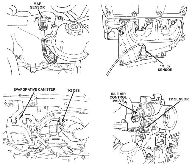 chrysler town & country questions where is the location of the map 2010 chrysler town and country engine diagram  lexus es 300 engine diagram
