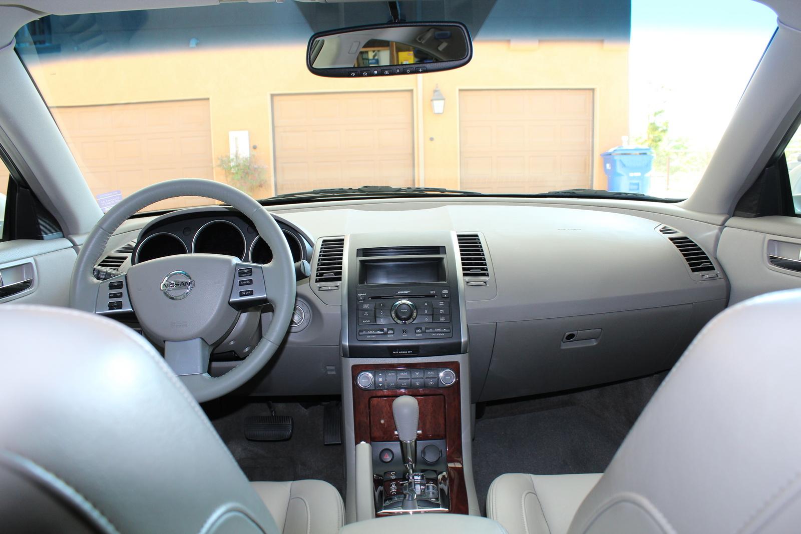 2007 Nissan Maxima Se Interior