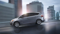2013 Ford C-Max, Front-quarter view. Copyright Ford Motor Company, exterior, manufacturer