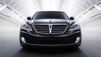 2013 Hyundai Equus, exterior front full view, exterior, manufacturer