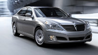 2013 Hyundai Equus, exterior right front quarter view, manufacturer, exterior