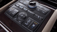 2013 Hyundai Equus, interior center controls, manufacturer, interior