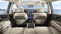 2013 Hyundai Equus, interior rear view, interior, manufacturer