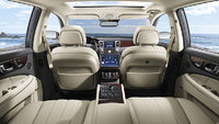 2013 Hyundai Equus, interior rear view, manufacturer, interior