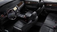 2013 Hyundai Equus, interior front view, interior, manufacturer