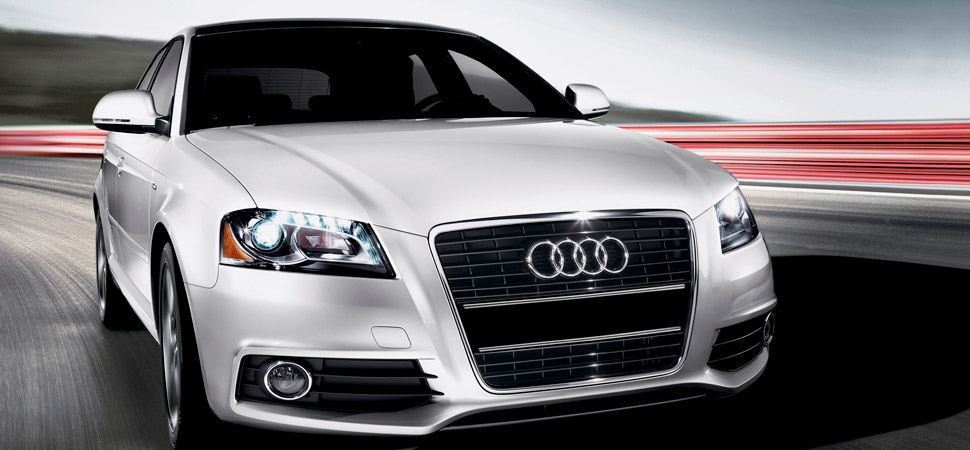 2013 Audi A3, exterior right front quarter view, manufacturer, exterior