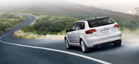 2013 Audi A3, exterior left rear quarter view, manufacturer, exterior
