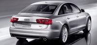 2013 Audi A6, exterior right rear quarter view, exterior, manufacturer