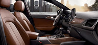 2013 Audi A6, interior front passenger and driver view, interior, manufacturer