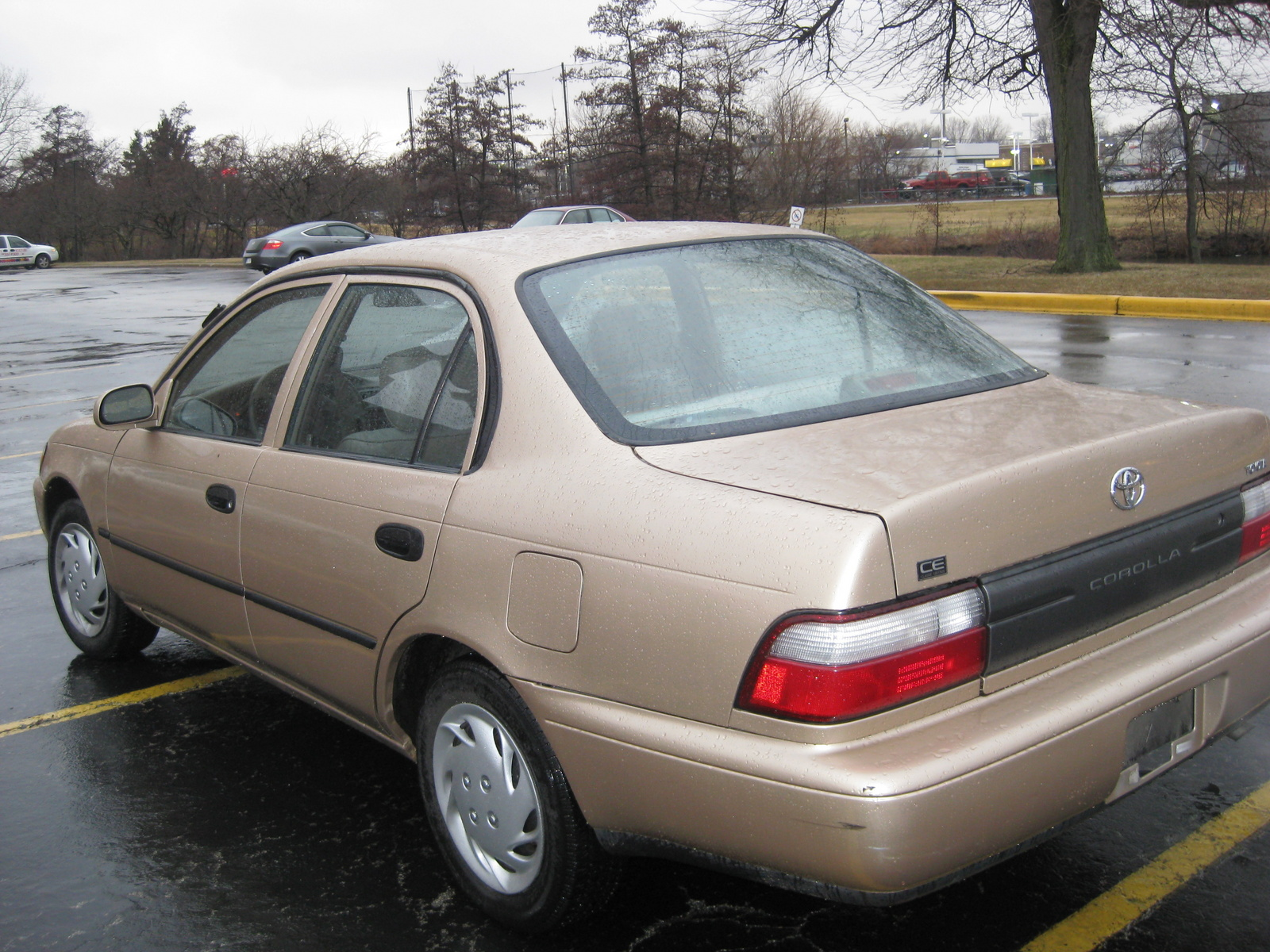 Picture of 1997 toyota corolla base exterior