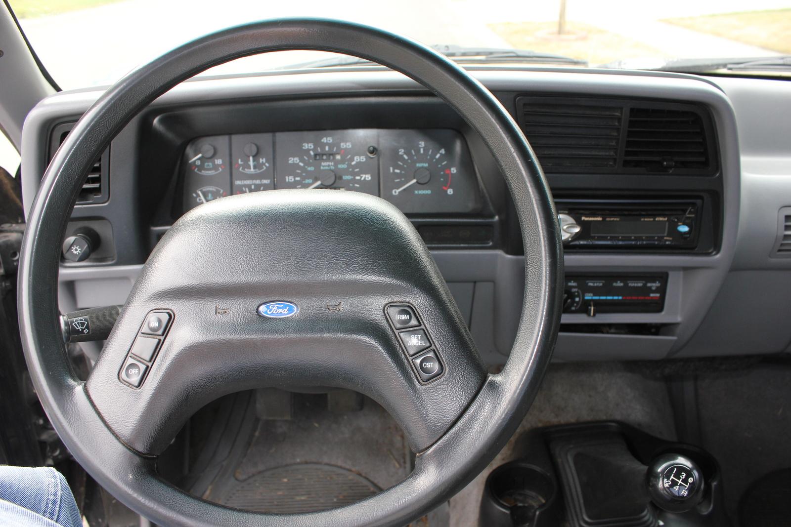 1994 Ford Ranger Splash Standard Cab Stepside SB, Picture of 1994 Ford Ranger 2 Dr Splash Standard Cab Stepside SB, interior