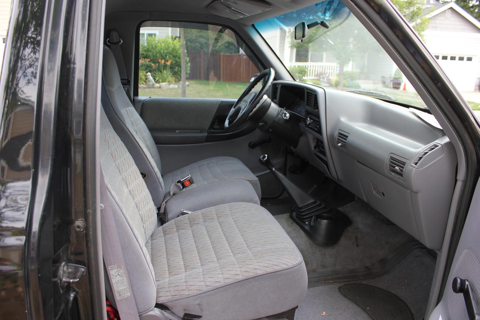 picture of 1994 ford ranger splash standard cab stepside sb interior - 2002 Ford Ranger Interior