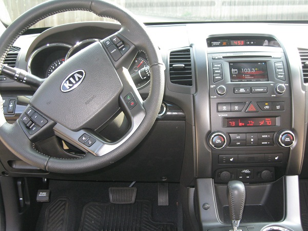 Picture of 2012 Kia Sorento EX AWD, interior
