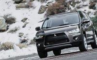 2013 Mitsubishi Outlander, Front quarter view., exterior, manufacturer