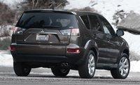 2013 Mitsubishi Outlander, Back quarter view., exterior, manufacturer