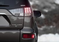 2013 Mitsubishi Outlander, Tail light., manufacturer, exterior