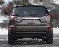2013 Mitsubishi Outlander, Back View., exterior, manufacturer