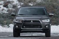2013 Mitsubishi Outlander, Front View., exterior, manufacturer