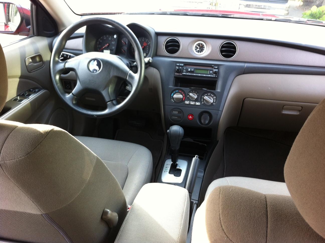 2006 mitsubishi outlander interior pictures cargurus for Mitsubishi outlander interior dimensions