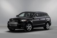 2013 Audi Q7, Front-quarter view, exterior, manufacturer