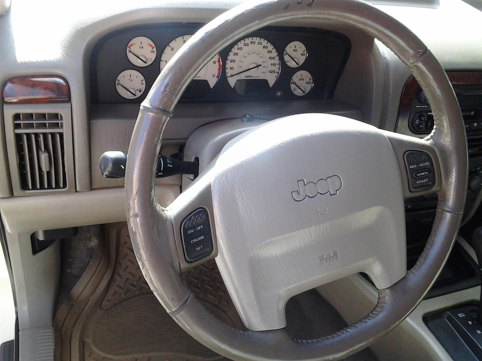 2005 Jeep Grand Cherokee Laredo Interior Photos