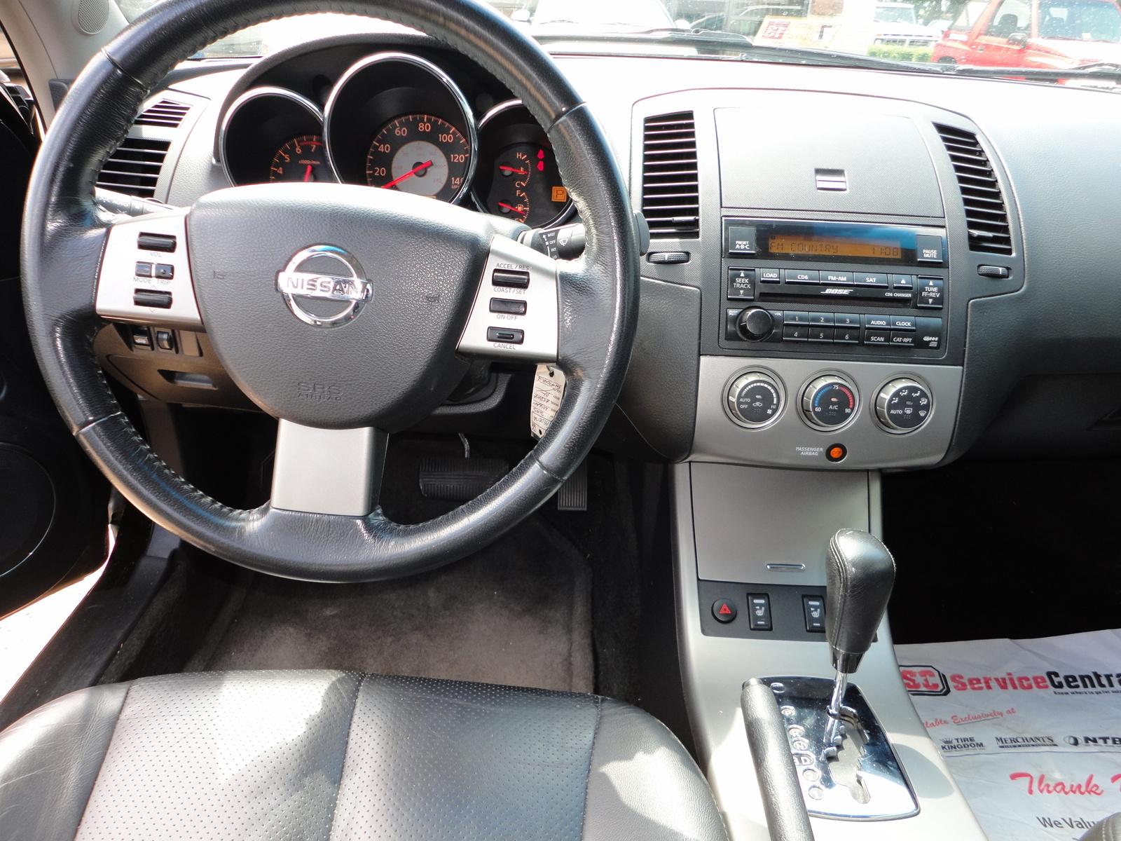 2005 Nissan Altima Sl Interior