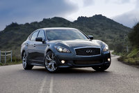 2013 INFINITI M56, Front-quarter view, exterior, manufacturer, gallery_worthy
