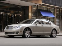 2013 Bentley Continental Flying Spur, Front quarter view., manufacturer, exterior